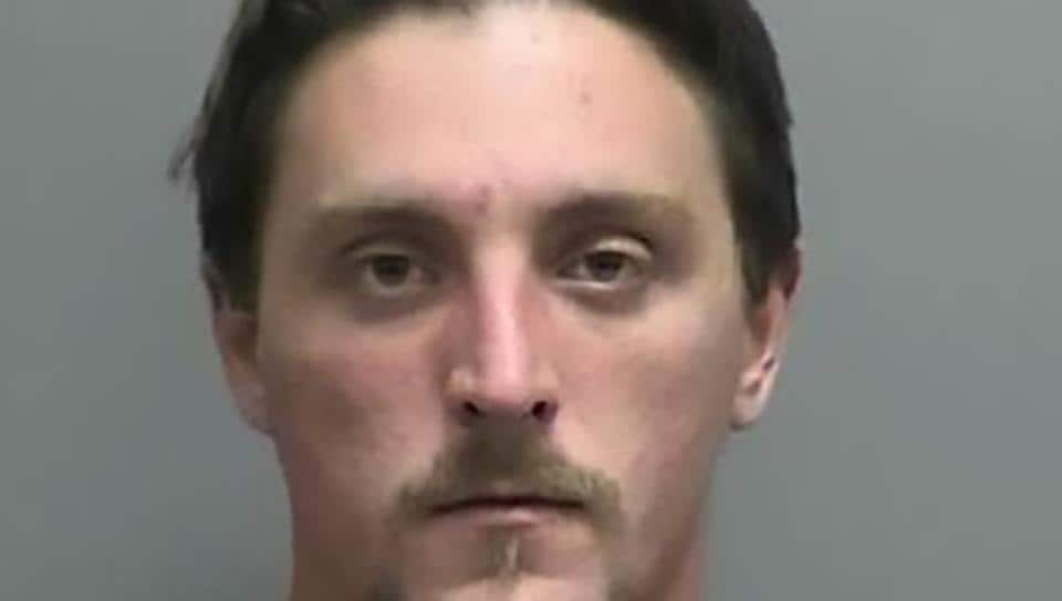 Joseph Jakubowski on April 4 allegedly robbed a gun shop and sent an anti-government manifesto to US President Donald Trump.