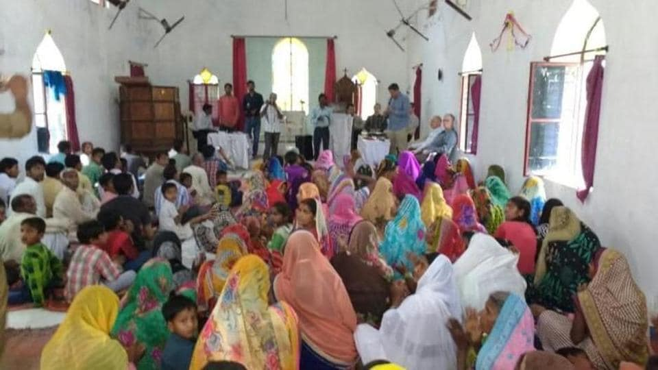 The accused had organised a medical camp but told the villagers that they would be cured of their ailments if they embraced the cross and started believing in Jesus Christ.