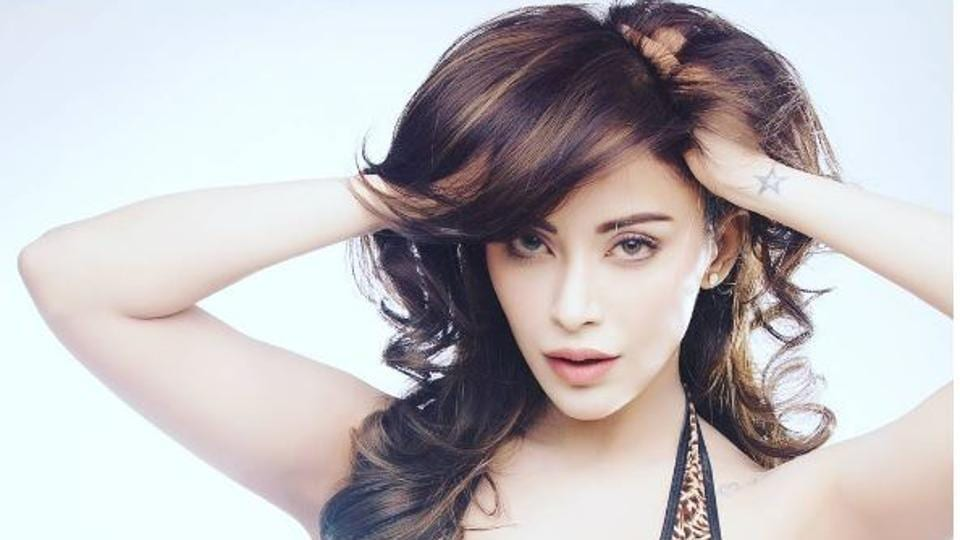 Angela Krislinzki refutes rumours that she has undergone skin and eye surgeries to look the way she does now.
