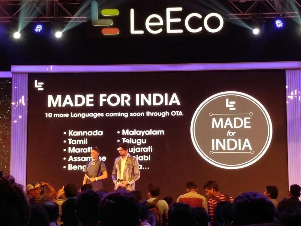 Handset-maker LeEco has abandoned  a deal with US electronics maker Vizio citing regulatory issues.
