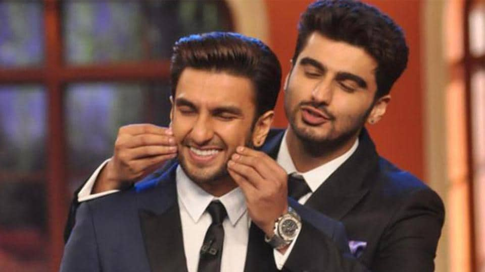 Arjun Kapoor and Ranveer Singh a wonderful camaraderie off and on screen.