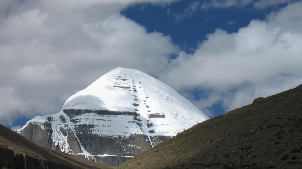 The Kailash Mansarovar in Tibet.