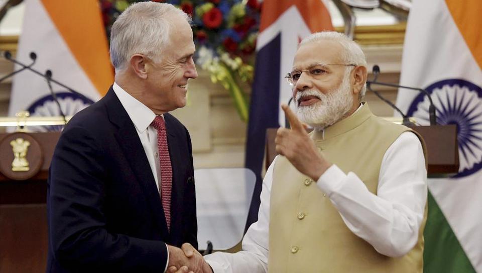 Narendra Modi,Malcolm Turnbull,Border-Gavaskar Trophy