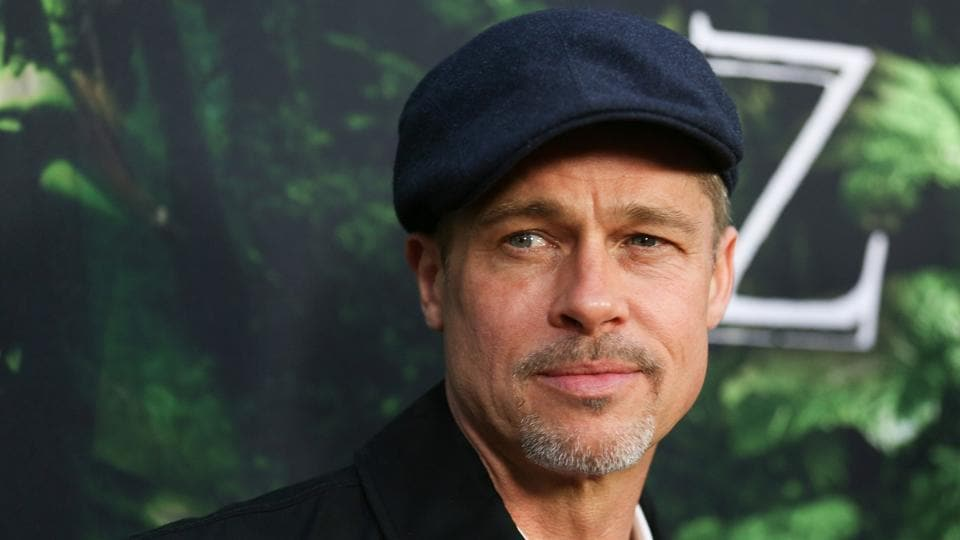 Executive producer Brad Pitt attends the premiere of Amazon Studios' The Lost City Of Z at ArcLight Hollywood.