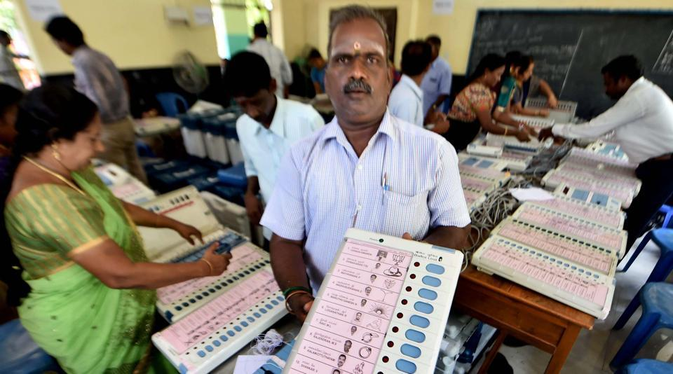 Election commission has put on hold by-election in RKNagar assembly constituency following allegation of money being distributed  among voters.
