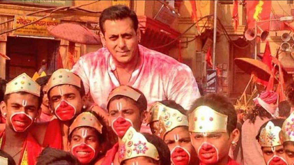 Salman Khan played a Hanuman devotee in Bajrangi Bhaijaan.