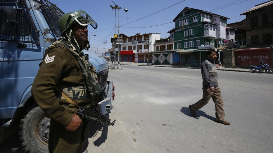 The separatists had called for a strike on Wednesday, the day on which polling was scheduled to be held for Anantnag seat.