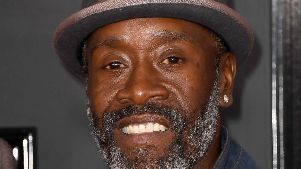 Actor/director Don Cheadle attends The 59th GRAMMY Awards at STAPLES Center.