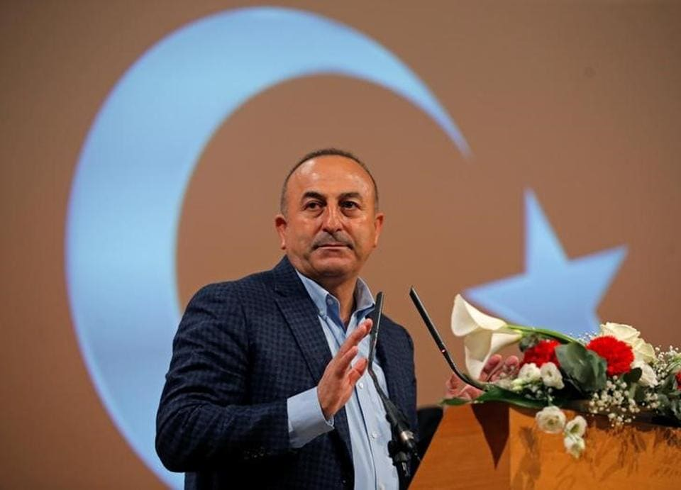 Turkish foreign minister Mevlut Cavusoglu.