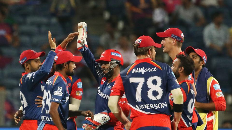 Delhi Daredevils registered their first win against Rising Pune Supergiant in the Indian Premier League as they secured a 97-run thrashing in Pune. Get full cricket score of RPS vs DD here.