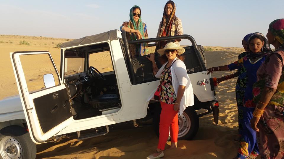 Neeru Gandhi, Pratibha Sabharwal and Monicka Chanana took the highway to a fantastic adventure.