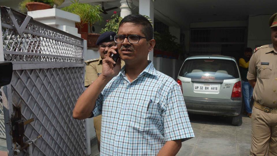 Amitabh Thakur had registered a complaint against Mulayam Singh Yadav on June 11, 2015.