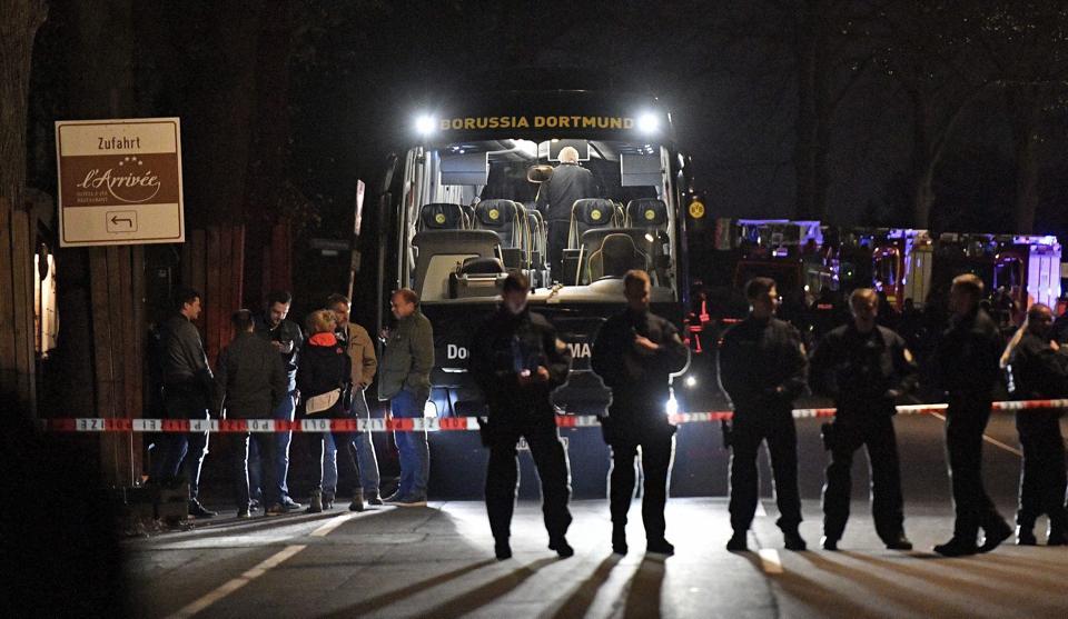 Borussia Dortmund,Islamic State,Angela Merkel