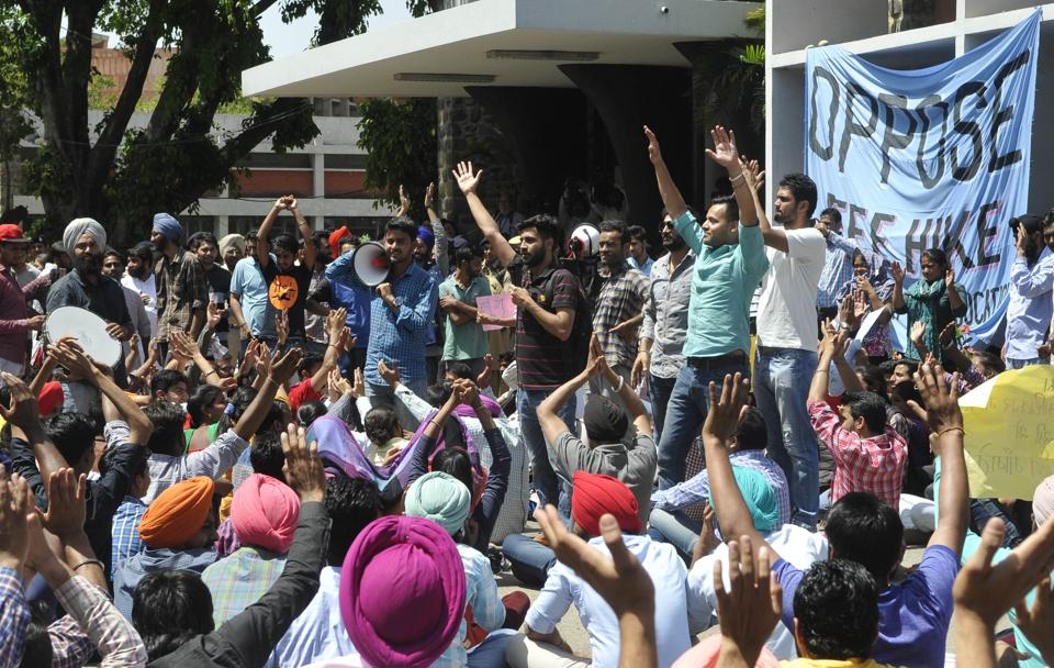 PU,Panjab University,violence at PU