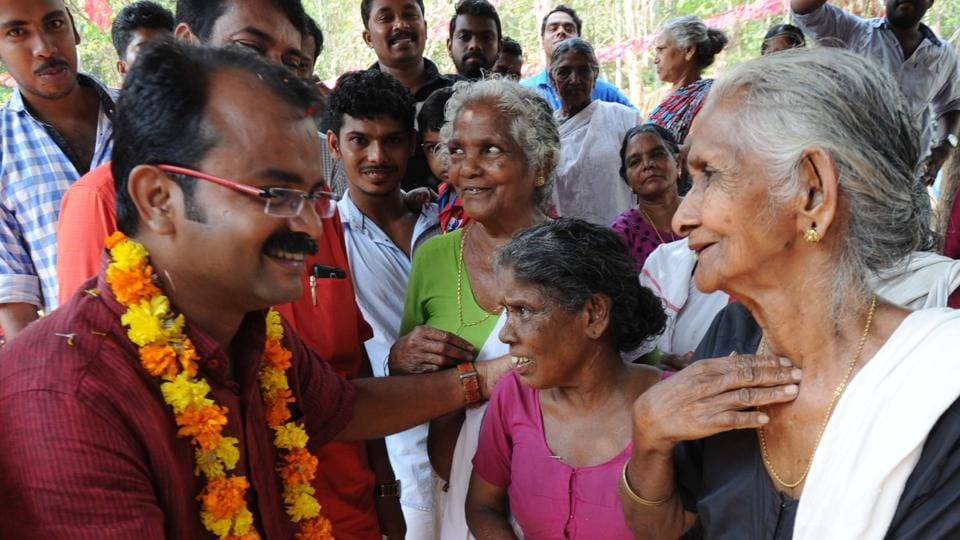 CPI(M) candidate MB Faisal campaigning in Malappuram. Faizal said the response from the electorate was positive and they expected secularism to turn out to be victorious.