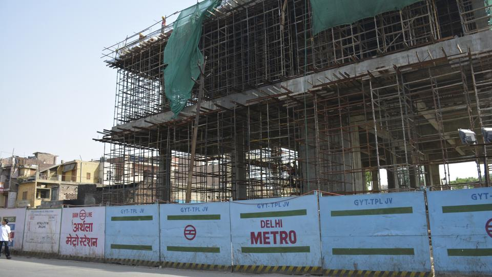 The 9.41km metro project from Dilshad Garden to New bus stand is pegged at Rs2,210 crore.