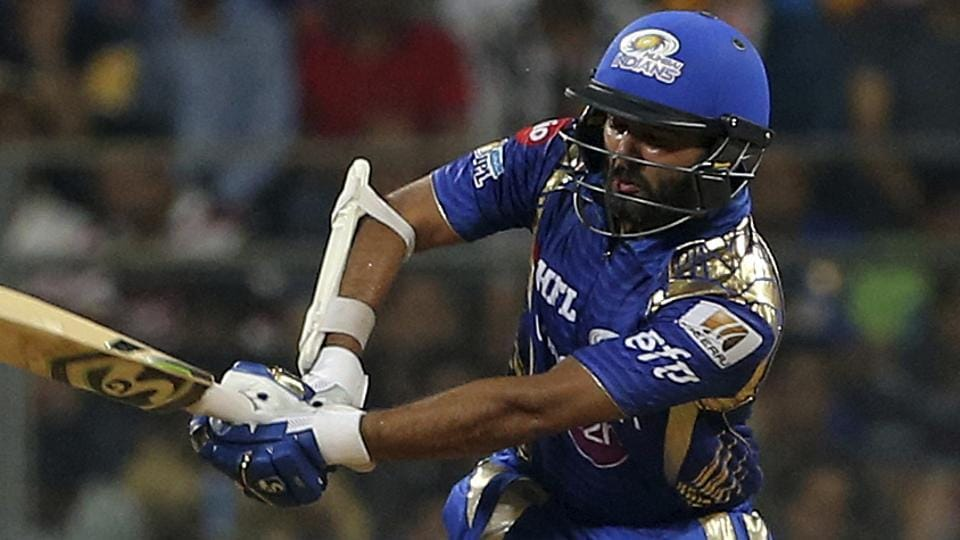 Mumbai Indians' Parthiv Patel bats during their Indian Premier League (IPL) match against Sunrisers Hyderabad.