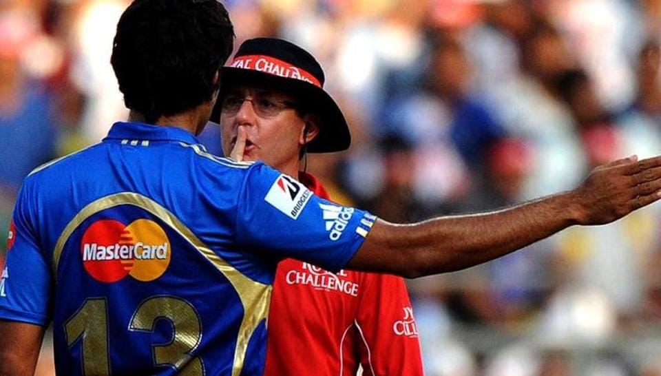 The Indian Premier League officials have come up with the best deterrent against players questioning officials' decisions - heavy fines.