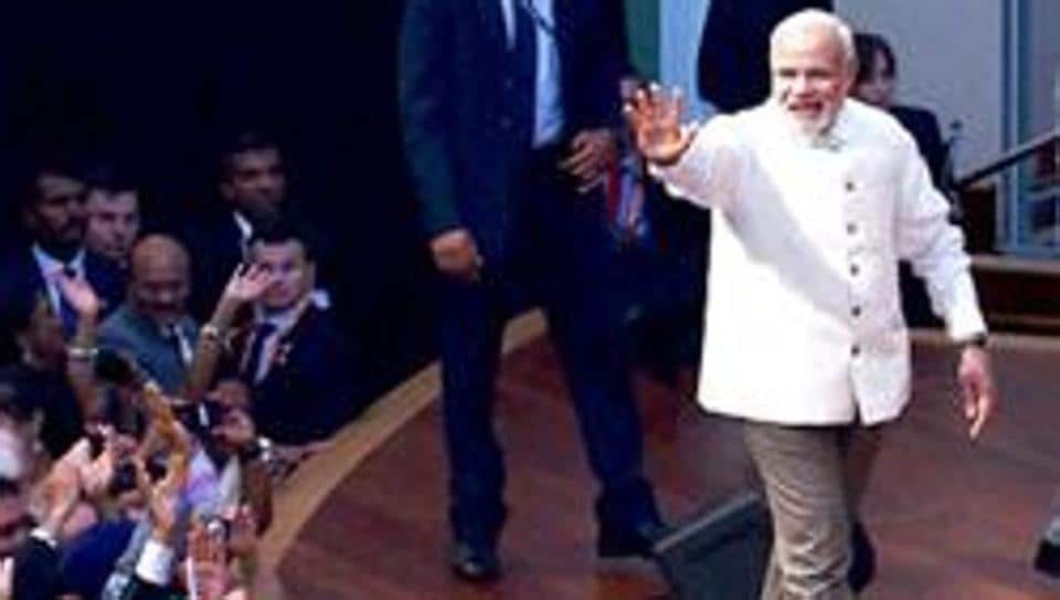 Prime Minister Narendra Modi  was at third spot on Instagram last year.