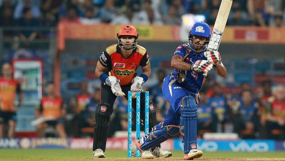 IPL 2017,Mumbai Indians vs Sunrisers Hyderabad,live cricket score