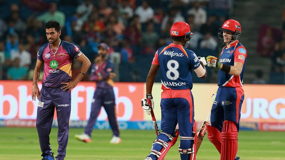Sam Billings and Sanju Samson steadied the ship with an attacking partnership. (BCCI)
