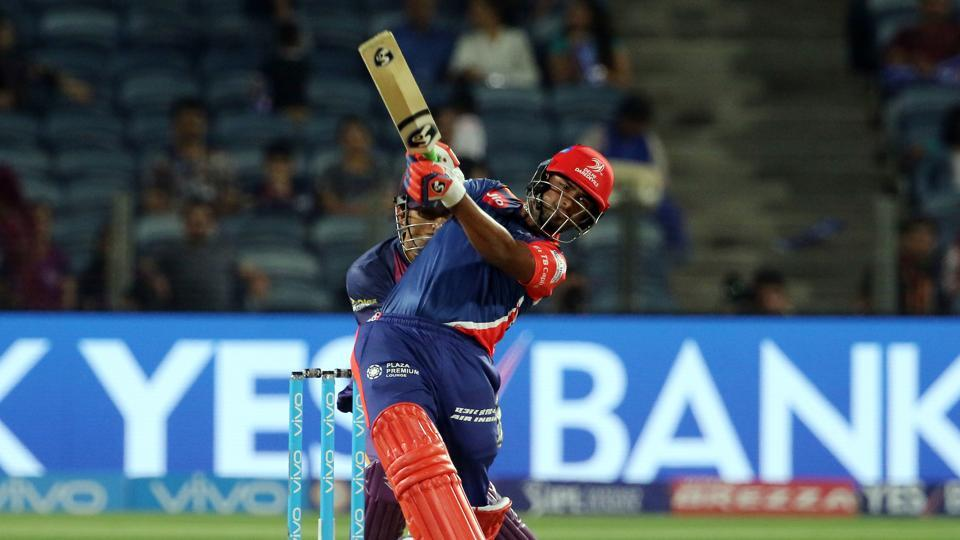 Rishabh Pant started off in aggressive fashion as he smashed 31 runs off 22 balls. (BCCI)