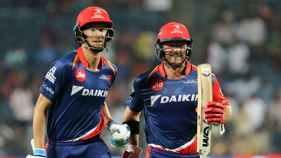 Chris Morris blasted 38 off nine balls as Delhi Daredevils reached 205/4, the first time a team posted 200-plus in the 2017 IPL. (BCCI)
