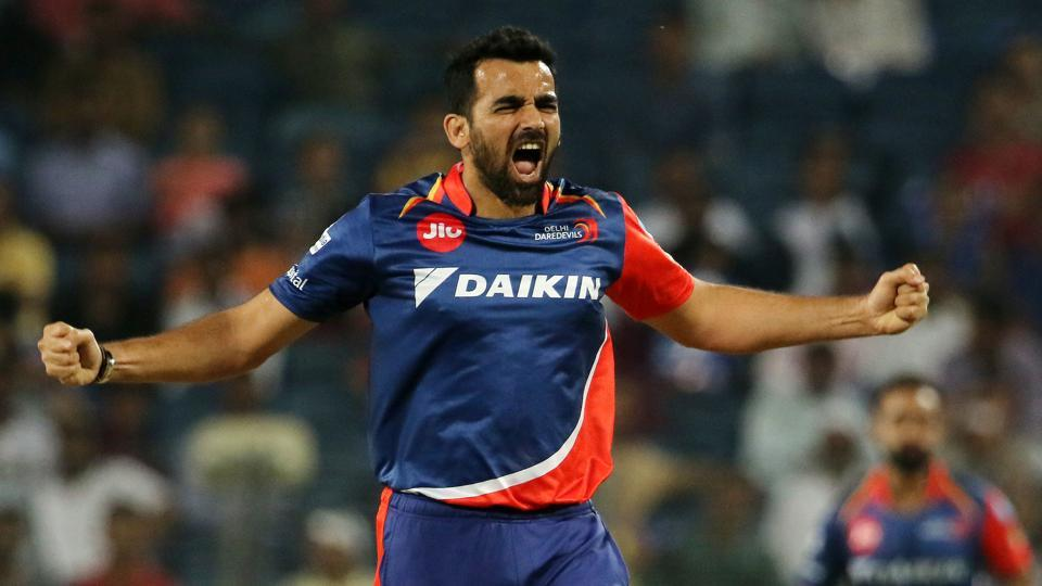 Chasing 206, Zaheer Khan removed Ajinkya Rahane cheaply. (BCCI)