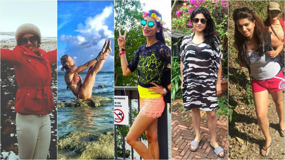 Delhi celebs holiday at exotic locations, and here's a look into their getaways.