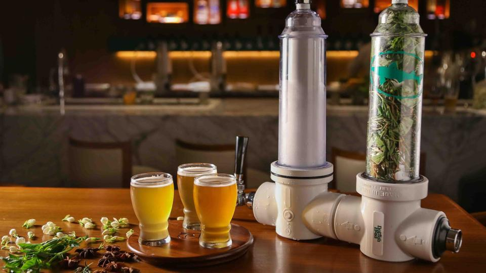 The Randall beer infuser