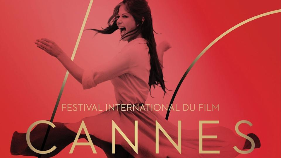 The official poster for the 70th Cannes Film Festival.