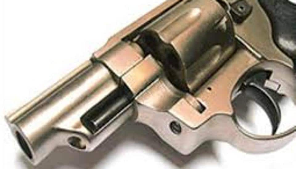 A-21-year-old Kashmiri student of a college here was arrested on Sunday, along with her male friend, for allegedly trying to snatch revolver of a police officer in Bharti Vidyapeeth area.