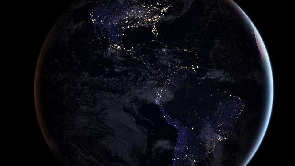 NASA,Space,Night light