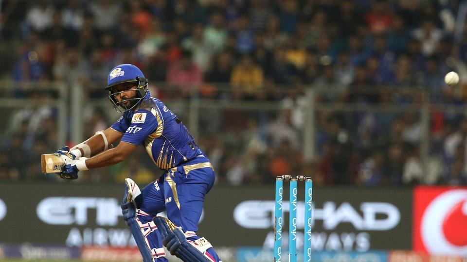 In reply, Mumbai Indians lost Jos Buttler and captain Rohit Sharma early but Parthiv Patel held one end and kept on piling runs.  (BCCI)