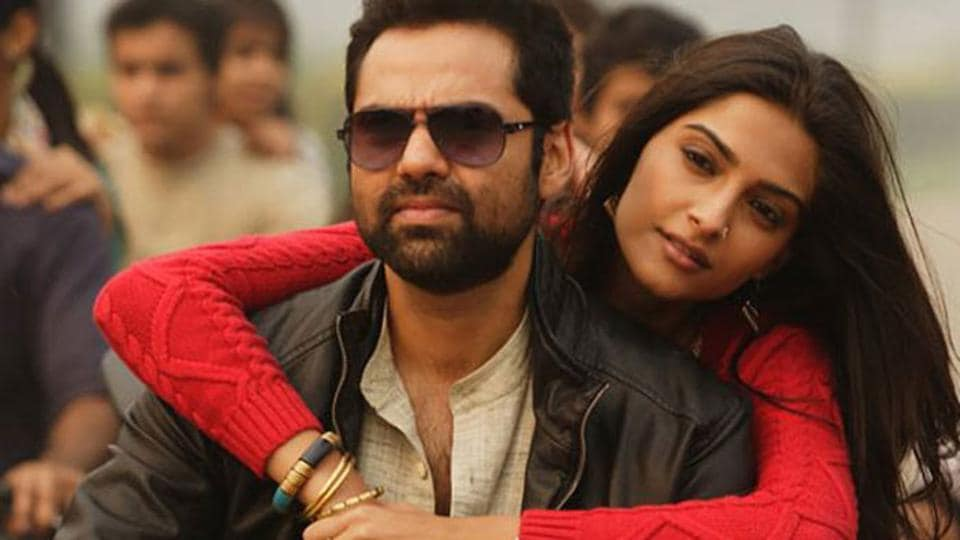 Sonam Kapoor and Abhay Deol in a still from Raanjhana.