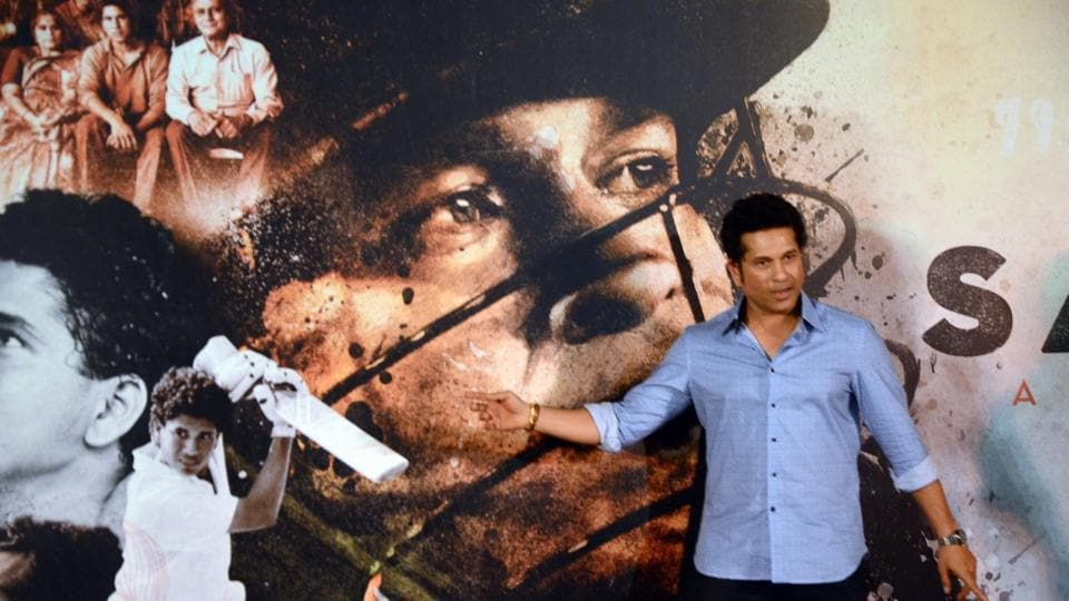 Sachin Tendulkar at the trailer launch of