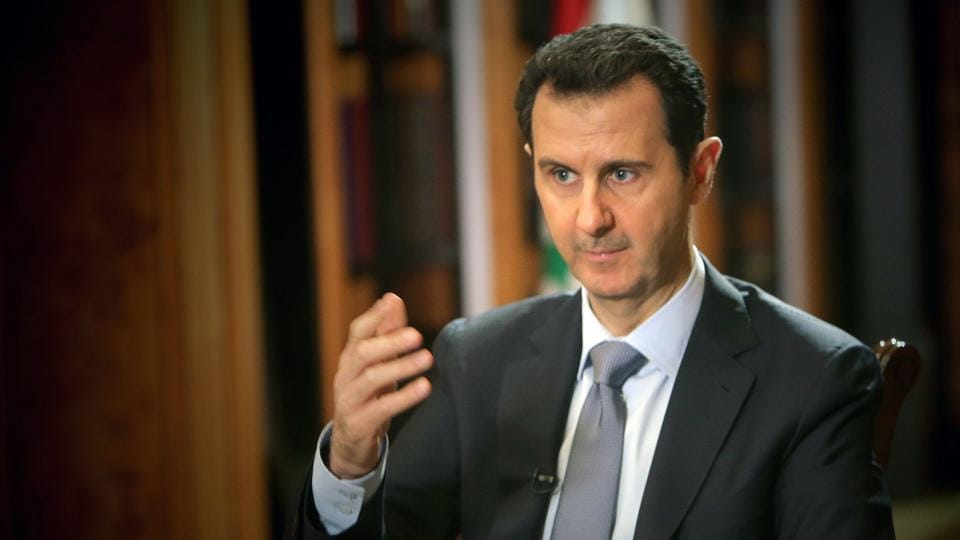 Assad on chemical attack