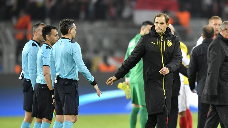 Borussia Dortmund head coach Thomas Tuchel said UEFAinformed the team that they would be playing the match against Monaco via text message and stated that more time should have been given.