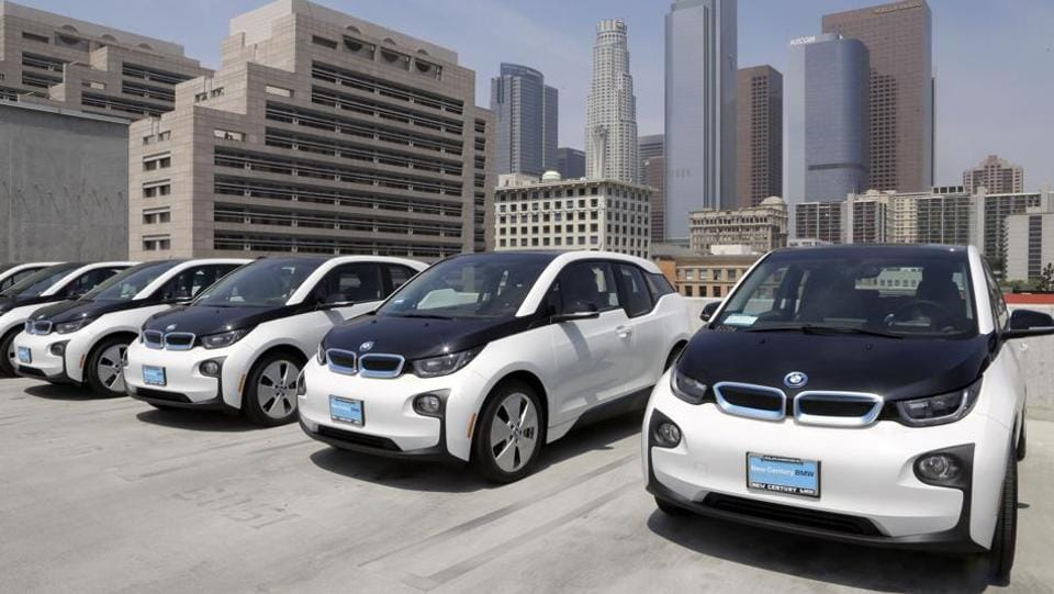 "The ""World Urban Car of the Year 2017"" BMW i3 is one of the two electrics by the Munich-based automaker, the other one being the BMW i8."