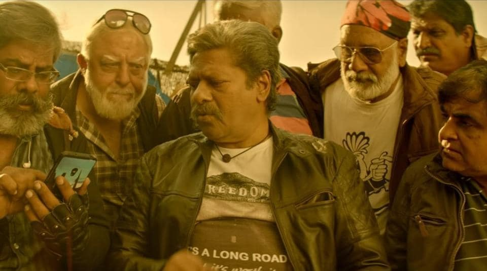 Power Paandi is neatly woven around 64-year-old protagonist, played fittingly by Raj Kiran.
