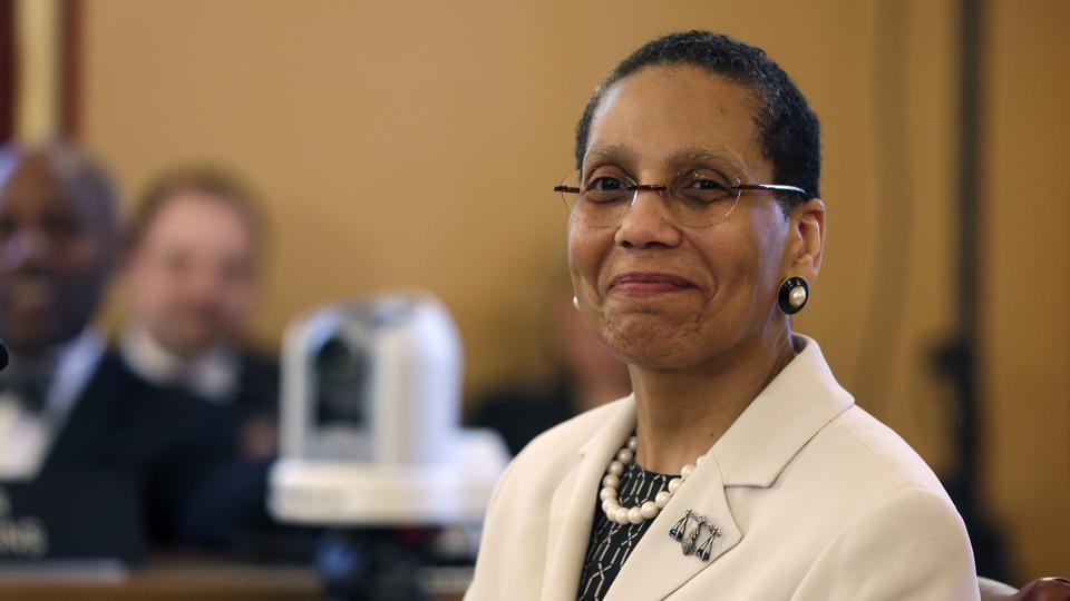 Justice Sheila Abdus-Salaam, a 65-year-old associate judge of New York's highest court, was found floating off Manhattan's west side on Wednesday.