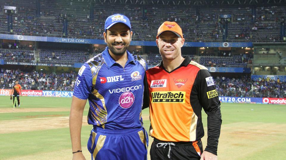 Mumbai Indians captain Rohit Sharma won the toss and chose to bowl against David Warner-led Sunrisers Hyderabad, who defeated them twice last year.  (BCCI)