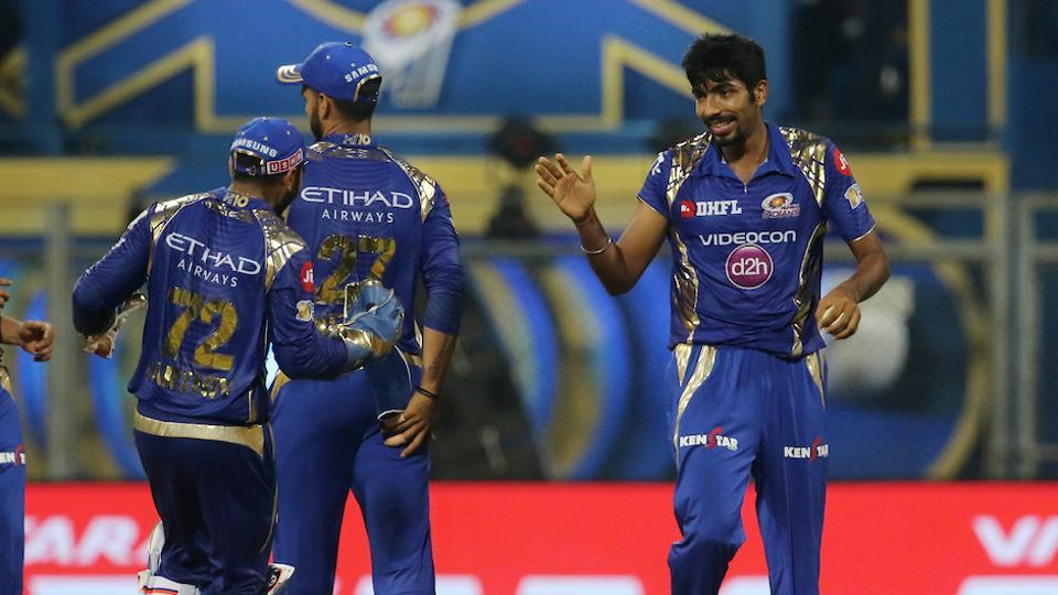 Jasprit Bumrah's 3/24 and a quickfire 37 from Krunal Pandya guided Mumbai Indians to a four-wicket win over Sunrisers Hyderabad in 2017 Indian Premier League.  (BCCI)