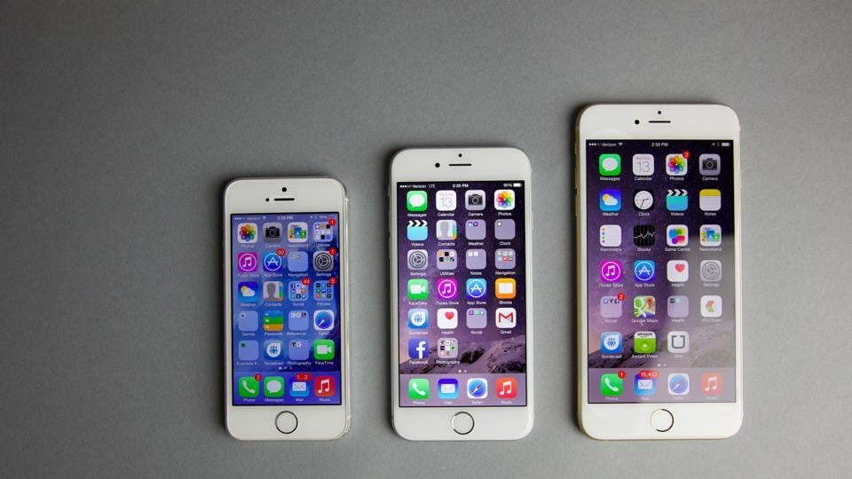 iPhone 6S from spare parts