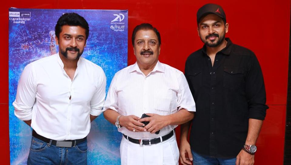 Suriya and Karthi are both prominent actors in Kollywood.