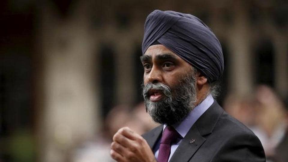 Khalistan,Harjit Sajjan,Canadian minister