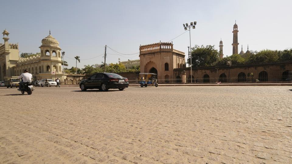 Heritage area,Archaeological Survey of India,Cobblestone pathways
