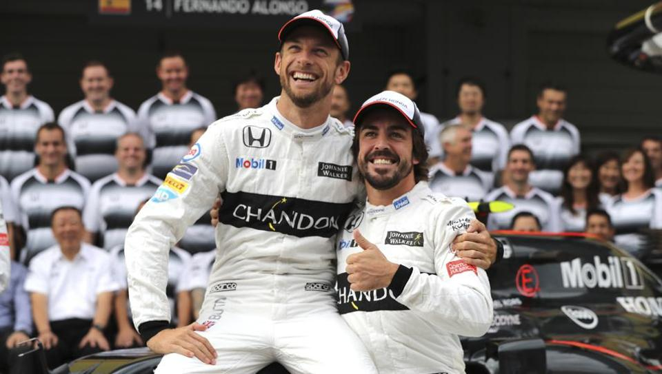 Jenson Button is taking Fernando Alonso's place in the McLaren team for the Monaco Grand Prix because McLaren has allowed Alonso to make his IndyCar debut at the Indianapolis 500 on May 28.