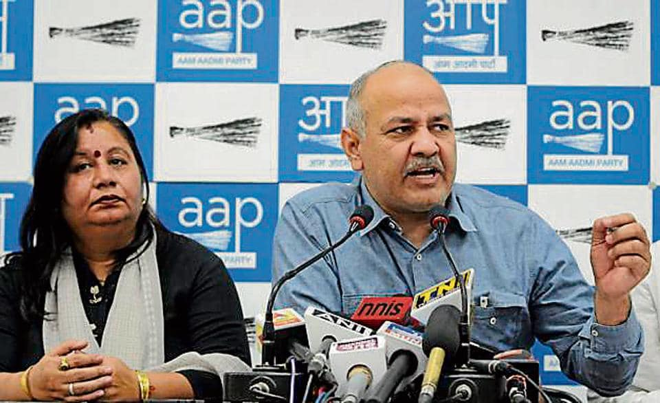 Sisodia was reacting to news reports that quoted the Central Vigilance Commission (CVC) report tabled in Parliament that said that corruption complaints against the departments of Delhi government reduced substantially in 2016 as compared to the previous year.