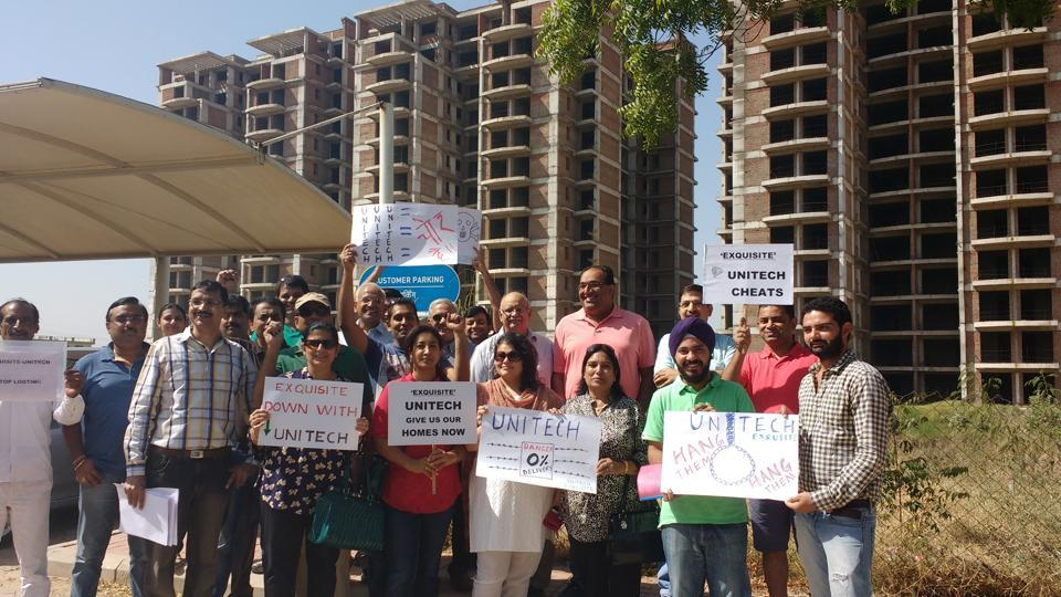 A number of cases have been registered as the Unitech group has been unable to deliver realty projects on time.